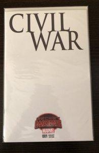 Civil War 001 Secret Wars Blank Variant NM