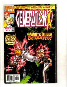 12 Generation X Marvel Comic Books # 30 31 32 33 34 35 37 53 54 55 63 64 MF11