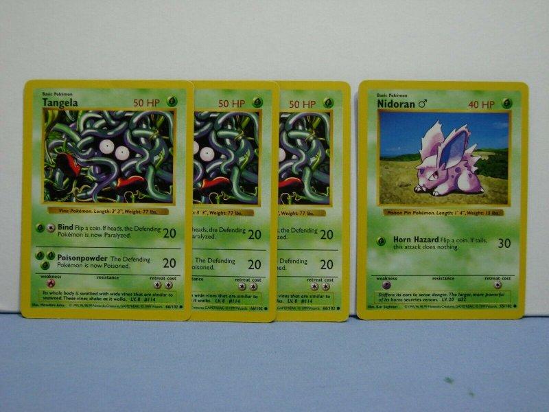 LOT Of 35 Pokemon TCG Cards Base Set SHADOWLESS RARE Squirtle Charmander