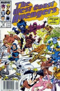 West Coast Avengers #28 (Newsstand) FN; Marvel | save on shipping - details insi