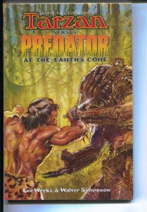 Tarzen Versus Predator: At The Earth's Core-TPB-trade