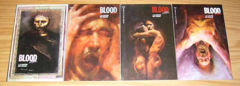 Blood: A Tale #1-4 VF/NM complete series J.M. DEMATTEIS kent williams 1987 EPIC