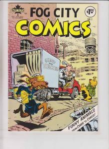 Fog City Comics #1 VF (1st) metzger RAND HOLMES underground funny animals