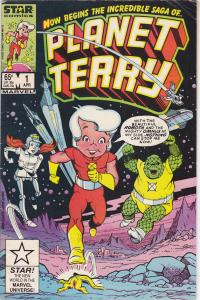 Planet Terry #1 variant
