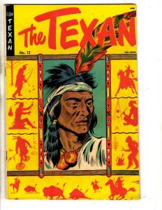 The Texan # 12 FN/VF St. John ANC Golden Age Comic Book Indian Chief Cover J314