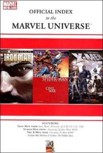 Official Index to the Marvel Universe #13, NM (Stock photo)
