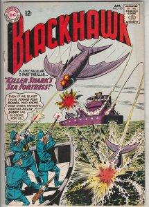 Blackhawk #183 (Apr-62) VF/NM High-Grade Black Hawk, Chop Chop, Olaf, Pierre,...