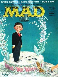 Mad (1952 series) #40, Poor (Stock photo)