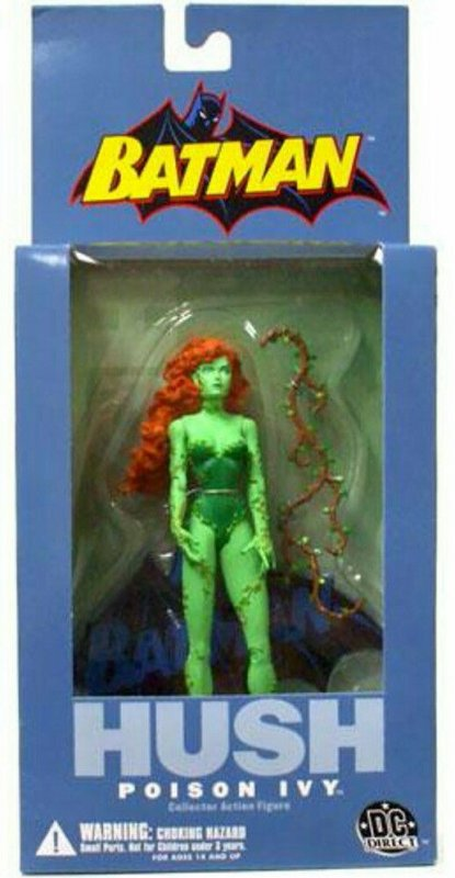 DC Direct Batman Hush Poison Ivy Figure - Series 1 - Jim Lee - Mint in Box