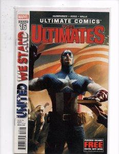 Marvel Comics The Ultimates #16 Captain America - President Steve Rogers