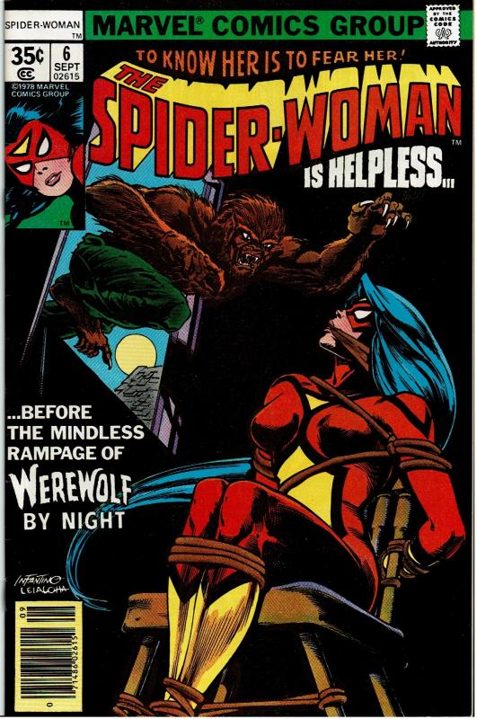 Spider-Woman #6, 8.0 or Better