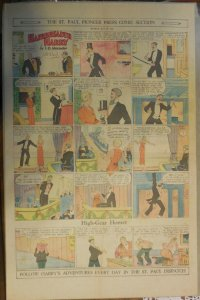 Hairbreadth Harry Sunday Page by  F.O. Alexander from 5/29/1932 Full Page Size !