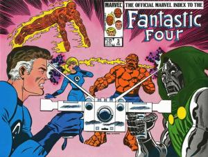 Official Marvel Index to the Fantastic Four #3 VF; Marvel | save on shipping - d