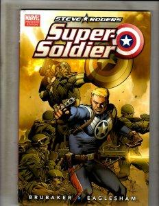 Steve Rogers Super-Soldier HARDCOVER Marvel Comics Graphic Novel Book HR8