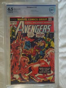 Avengers #112 - CBCS 6.5 - 1st Appearance Mantis