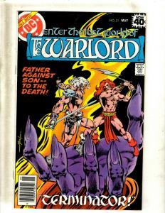 10 The Warlord DC Comic Books #21 22 23 24 25 26 27 28 29 30 JF12