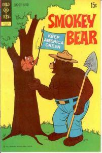 SMOKEY BEAR 10 VF-NM   June 1972 COMICS BOOK