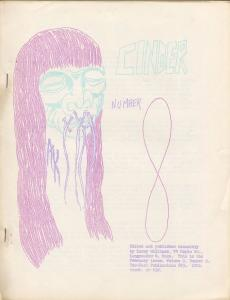 Cinder # 8 1962-Larry Williams-shrunken head cover-general fanzine-FN+