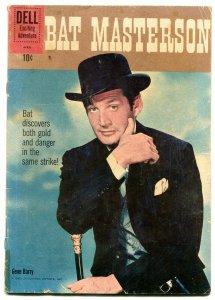 Bat Masterson #6 1961- Dell Western- Gene Barry G