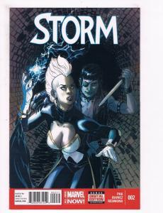 Storm # 2 FN/VF 1st Print Marvel NOW Comic Book X-Men Wolverine Gambit Beast S63