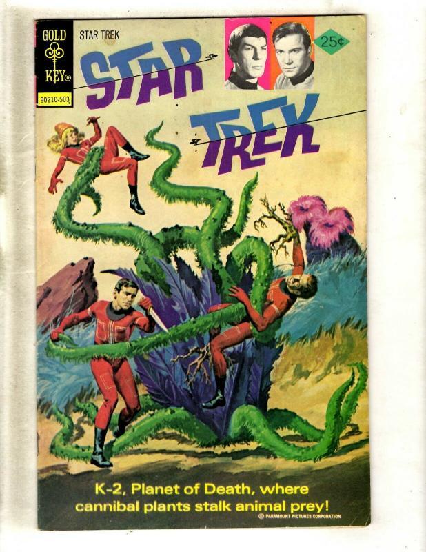 Star Trek # 29 VF Gold Key Comic Book 1975 Bronze Age Spock Captain Kirk WS9
