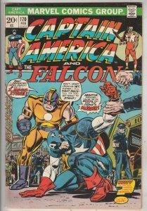 Captain America #170 (Feb-74) FN/VF+ High-Grade Captain America