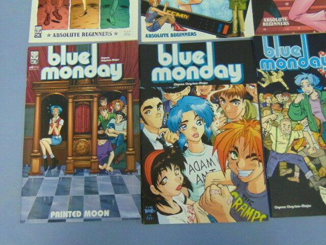10 Blue Monday Oni Press Indy Comic Books with Variant Cover Issues Chynna Major