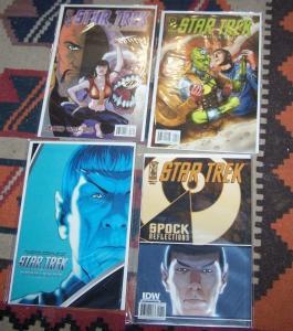 Star Trek: Spock: Reflections #1 + KLINGONS  3+MISSIONS END 4+ COUNTDOWN 4