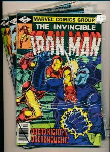 MARVEL LOT of 4- IRON MAN #129, #134-136 1979/'80  VERY FINE (PF713)