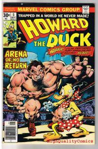 HOWARD THE DUCK #5, VG, Arena of No Return, Gerber, 1970, Bronze age