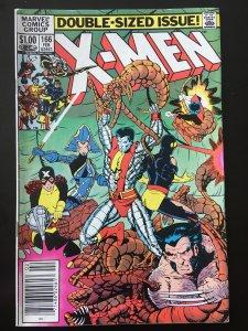 Uncanny X-Men #166 (newstand edition) *KEY