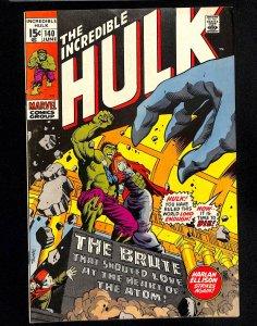 Incredible Hulk (1962) #140 1st Jarella!