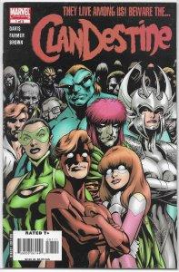 Clandestine   vol. 2   #1 of 5 VG/FN