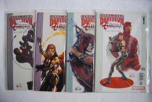 Daredevil & Elektra 1-4 full set, NM