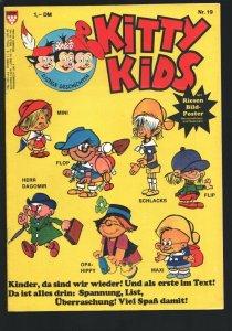 Kitty Kids #19 1980's-Cartoon type humor-German edition-NO Poster !!-VG
