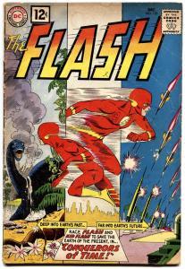 FLASH #125 1961-DC COMICS-DINOSAUR COVER