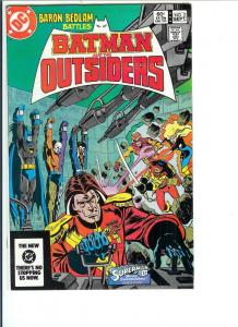 Batman and the Outsiders, Number 2, September, 1983 (VF/NM)
