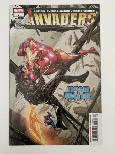 Invaders 7 2019 Butch Guice Main Cover 1st Print Marvel Comics NM