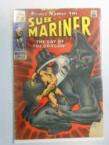Sub-Mariner #15 (1969 1st Series) 2.5/GD+