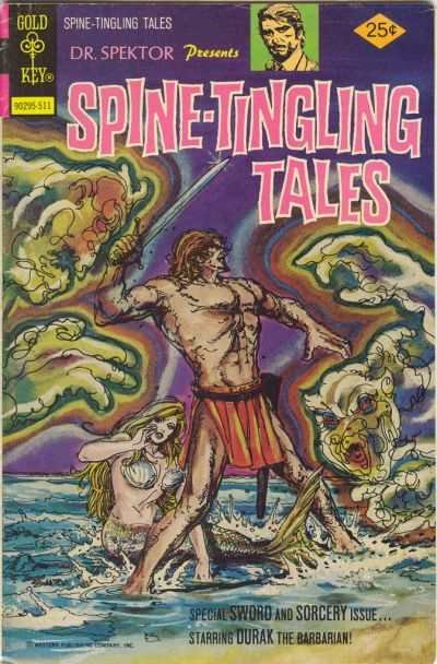Spine-Tingling Tales #3, VF (Stock photo)
