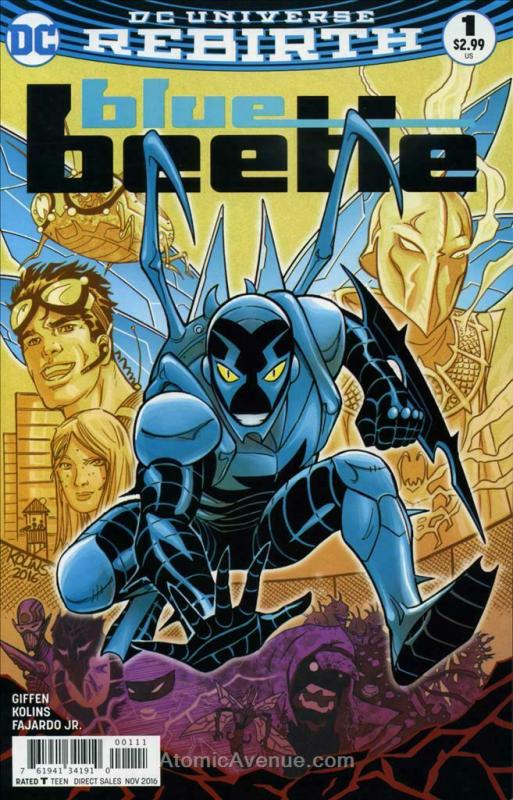Blue Beetle (6th Series) #1 VF/NM; DC   save on shipping - details inside