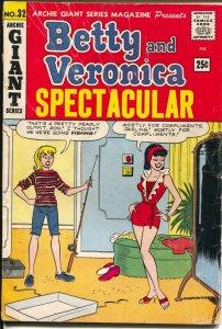 Archie Giant Series #32 1965-Betty & Veronica Spectacular-Streisand-G/VG