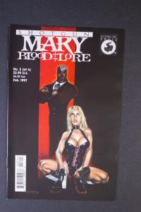 Shotgun Mary: Blood Lore #3 June 1997. Herb Mallette, Antara