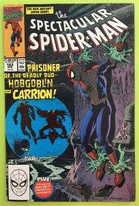 SPECTACULAR SPIDER-MAN 163 HOBGOBLIN MARVEL 1990