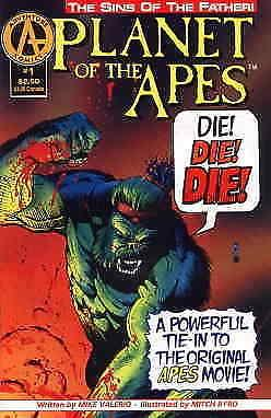 Planet of the Apes: Sins of the Father #1 VF; Adventure | save on shipping - det