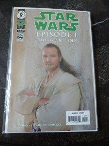 STAR WARS EPISODE #1 QUI-GON JINN PHOTO COVER VARIANT