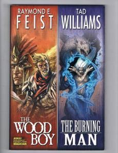 The Wood Boy/The Burning Man TPB Dable Brothers Productions 1st Print WOW!!! S30