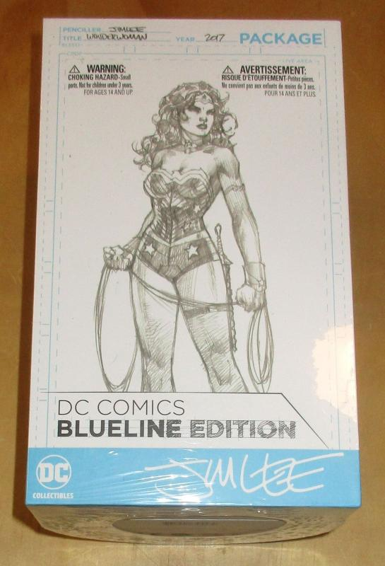 DC Blueline Jim Lee Wonder Woman Action Figure - New/Sealed!
