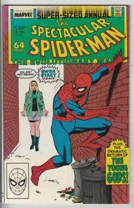 Spider-Man, Peter Parker Spectacular King-Size #8 (Jan-88) NM+ Super-High-Gra...