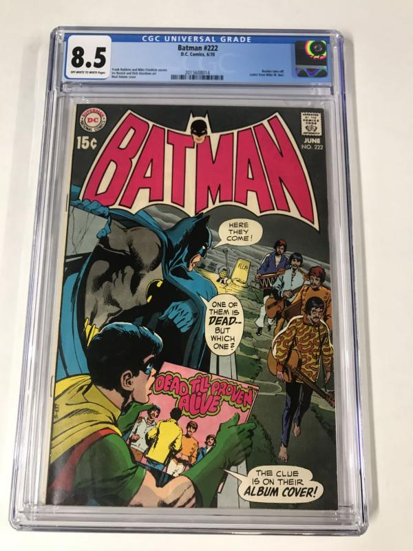 Batman (1st series) #222 CGC 8.5